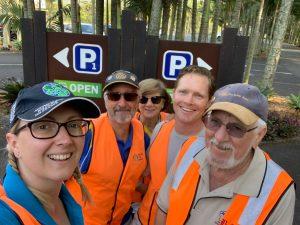 Australia Zoo Parking Team